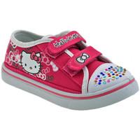 kengät Lapset Matalavartiset tennarit Hello Kitty  Vaaleanpunainen