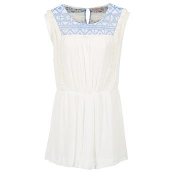 vaatteet Naiset Lyhyt mekko Moony Mood EBENE White