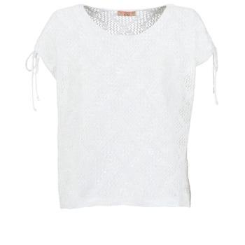 vaatteet Naiset Topit / Puserot Moony Mood EDDA Ecru