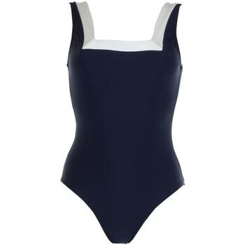vaatteet Naiset Yksiosainen uimapuku Janine Robin 991272-18 Sininen