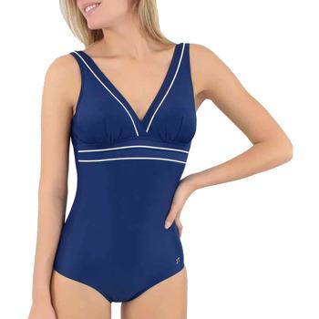 vaatteet Naiset Yksiosainen uimapuku Janine Robin 991278-18 Sininen