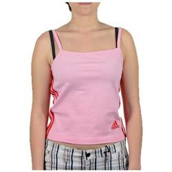 vaatteet Naiset Hihattomat paidat / Hihattomat t-paidat adidas Originals  Vaaleanpunainen