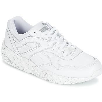 kengät Miehet Matalavartiset tennarit Puma R698 SPECKLE White / Argenté