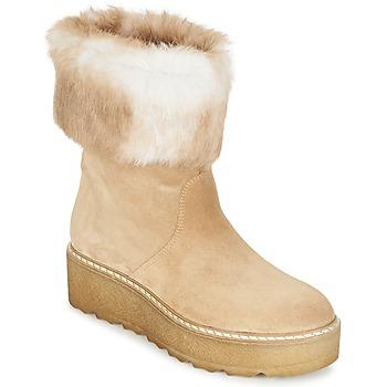 kengät Naiset Bootsit Nome Footwear MOVETTA Beige