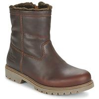 kengät Miehet Bootsit Panama Jack FEDRO Brown