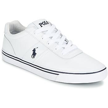 kengät Miehet Matalavartiset tennarit Polo Ralph Lauren HANFORD White