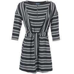vaatteet Naiset Lyhyt mekko Loreak Mendian PILI Black / White