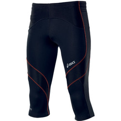 vaatteet Miehet Legginsit Asics Leg balance knee tight Black