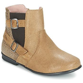 kengät Tytöt Bootsit Aster DESIA Beige