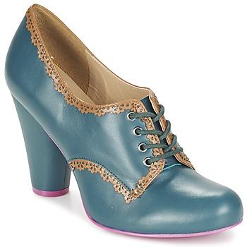 kengät Naiset Nilkkurit Cristofoli POSS CHAV Blue / Patinoitu ruskea
