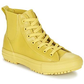 kengät Naiset Korkeavartiset tennarit Converse CHUCK TAYLOR ALL STAR CHELSEA CAOUTCHOUC HI Yellow / Citron