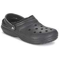 kengät Puukengät Crocs CLASSIC LINED CLOG Black