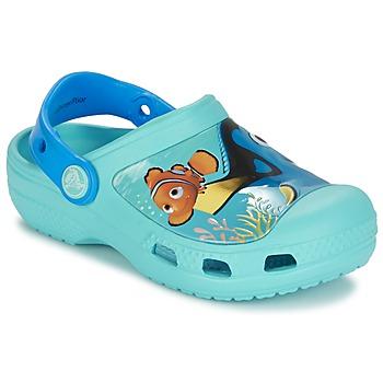 kengät Lapset Puukengät Crocs CC DORY CLOG Blue