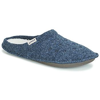 kengät Tossut Crocs CLASSIC SLIPPER Laivastonsininen / Red
