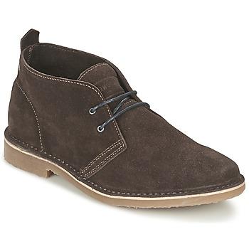 kengät Miehet Bootsit Jack & Jones GOBI SUEDE DESERT BOOT Brown