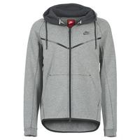 vaatteet Miehet Pusakka Nike TECH FLEECE WINDRUNNER HOODIE Grey