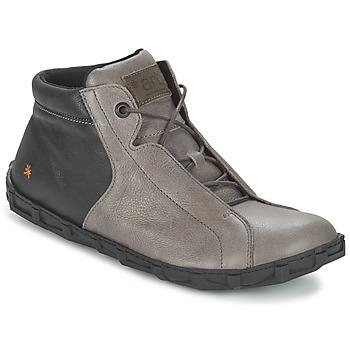 kengät Miehet Bootsit Art MELBOURNE Grey / Black