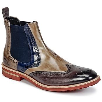 kengät Miehet Bootsit Melvin & Hamilton EDDY 13 Brown / Blue