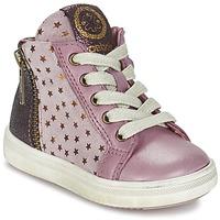 kengät Tytöt Korkeavartiset tennarit Acebo's MARLIE Pink