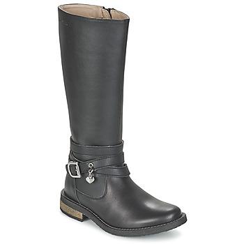 kengät Tytöt Saappaat Garvalin IRATIA Black