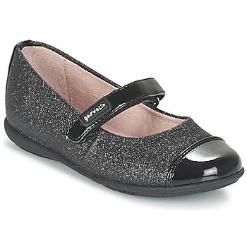 kengät Tytöt Balleriinat Garvalin JALINA Black