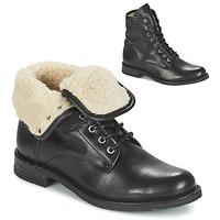 kengät Naiset Bootsit Mustang SABORA Black