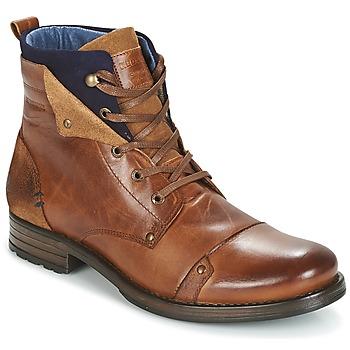 kengät Miehet Bootsit Redskins YEDES Cognac