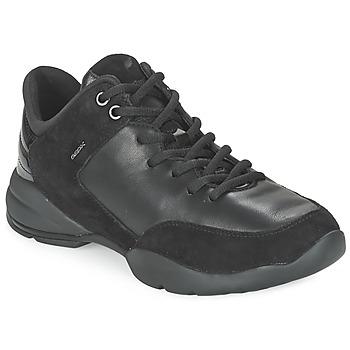 kengät Naiset Matalavartiset tennarit Geox SFINGE A Black