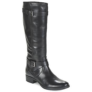 kengät Naiset Saappaat Geox MENDI ST D Black