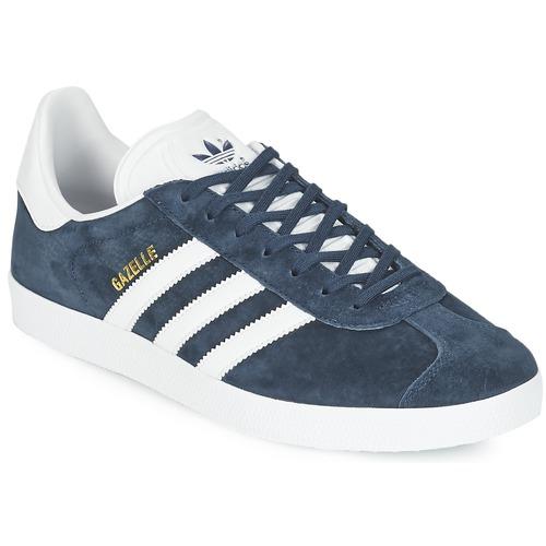 kengät Matalavartiset tennarit adidas Originals GAZELLE Laivastonsininen