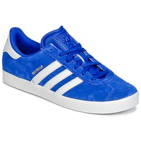 kengät Pojat Matalavartiset tennarit adidas Originals GAZELLE 2 J Blue