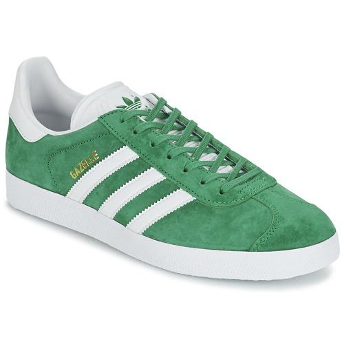 kengät Matalavartiset tennarit adidas Originals GAZELLE Green
