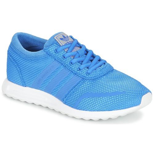 kengät Pojat Matalavartiset tennarit adidas Originals LOS ANGELES J Blue