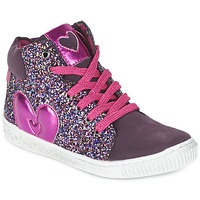 kengät Tytöt Korkeavartiset tennarit Agatha Ruiz de la Prada BUSOULI Violet