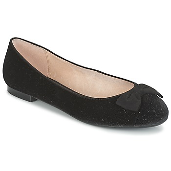kengät Naiset Balleriinat Mellow Yellow ALANIS Black