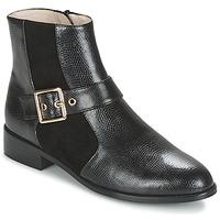 kengät Naiset Bootsit Mellow Yellow ALDANA Black