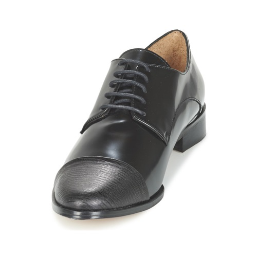 Emma Go Sherlock Black - Ilmainen Toimitus- Kengät Derby-kengät Naiset 98