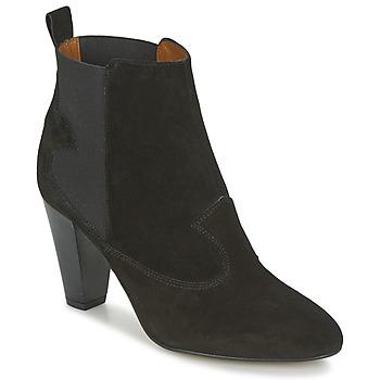 kengät Naiset Nilkkurit Heyraud DAISY Black