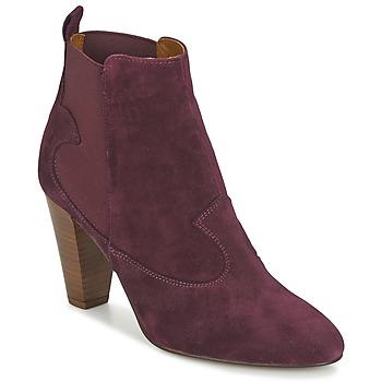 kengät Naiset Nilkkurit Heyraud DAISY Bordeaux
