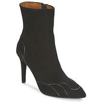 kengät Naiset Nilkkurit Heyraud DARLING Black