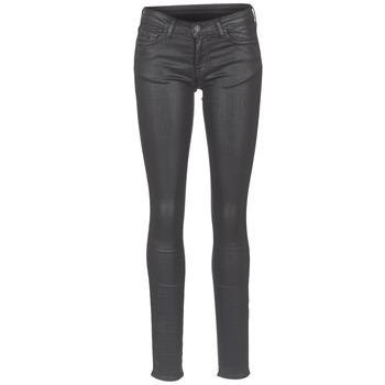 vaatteet Naiset Slim-farkut Cimarron ROSIE DENM WAX Black