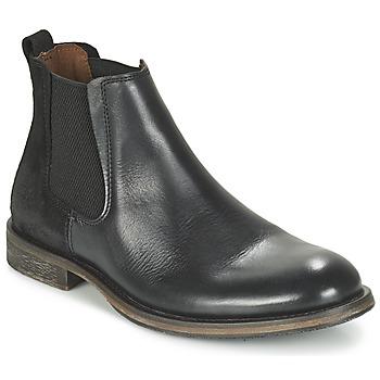 kengät Miehet Bootsit Bunker BEAT Black