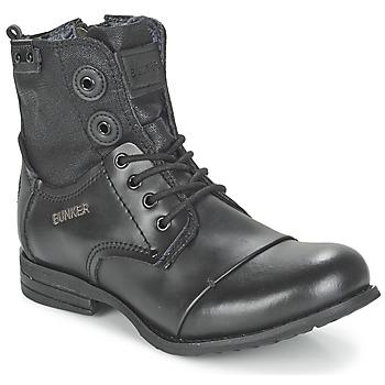 kengät Naiset Bootsit Bunker SARA Black