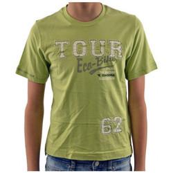vaatteet Lapset Lyhythihainen t-paita Diadora  Vihreä