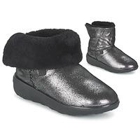kengät Naiset Bootsit FitFlop SUPERCUSH MUKLOAFF SHIMMER Silver