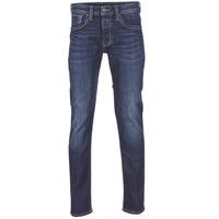 vaatteet Miehet Suorat farkut Pepe jeans CASH Blue / Fonce