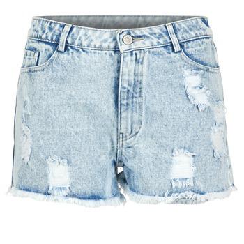 vaatteet Naiset Shortsit / Bermuda-shortsit Yurban EVANUXE Blue / Clair