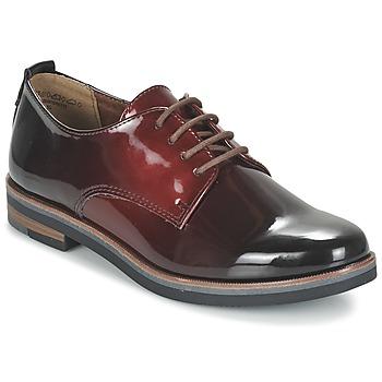 kengät Naiset Derby-kengät Marco Tozzi TREFLO Red / Fonce
