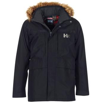 vaatteet Miehet Parkatakki Helly Hansen COASTAL 2 PARKA Black
