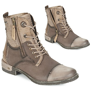 kengät Naiset Bootsit Bugatti DREMALO Brown / Gold